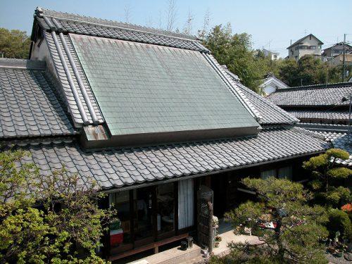 切妻屋根、大和棟造り