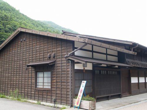 奈良井宿 切妻屋根